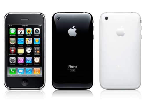 iPhone Black White