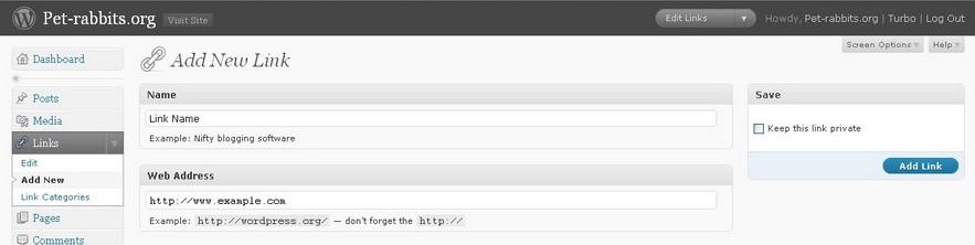Type URL