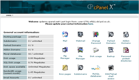 How to Add a Clock Box to Your Website through cPanel Cpanel