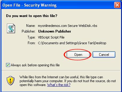 Desktop Open