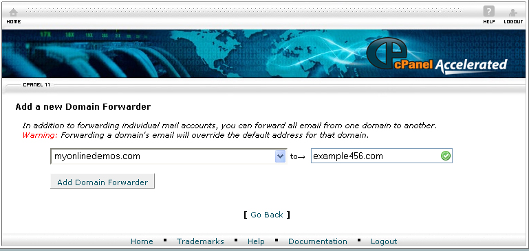 Enter Email Account