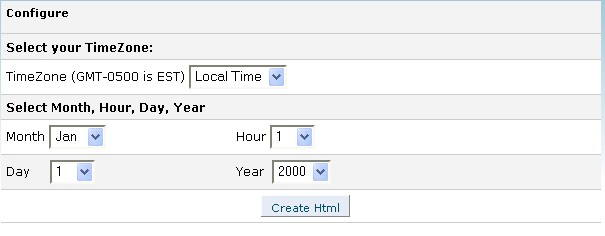 Html code beginning