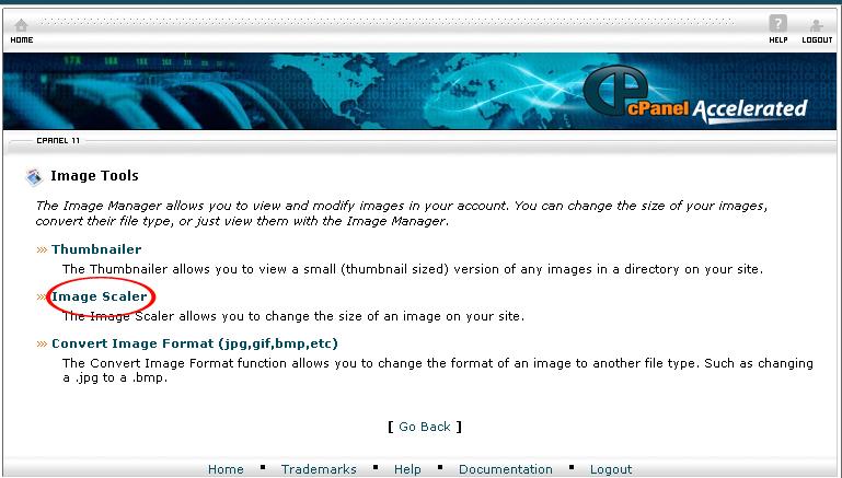 Image Scaler link