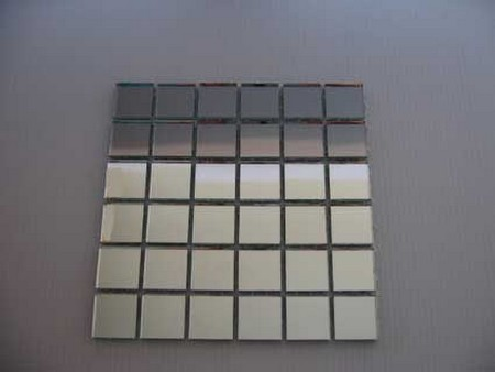 maths coursework on mirrors tiles