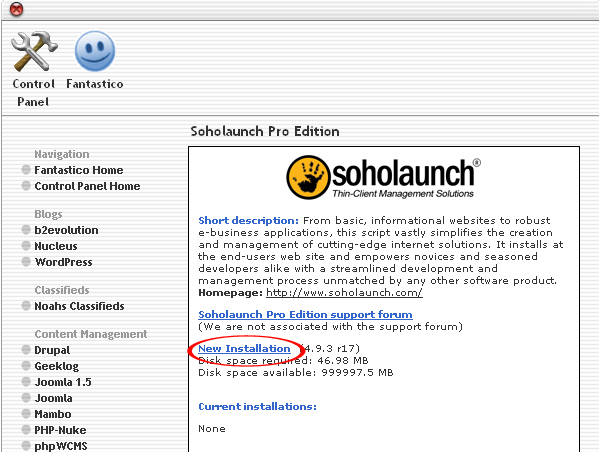 How to Install Soholaunch Pro Edition through Cpanel