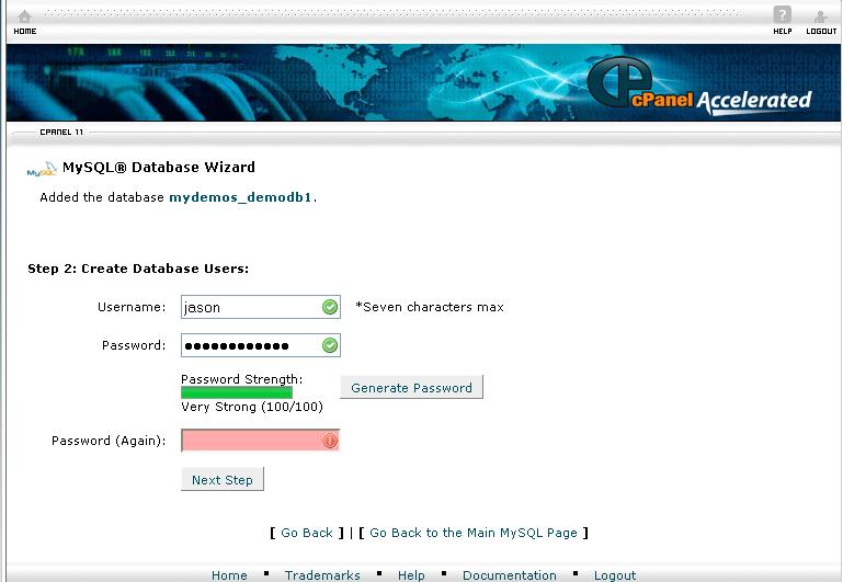 Password text box