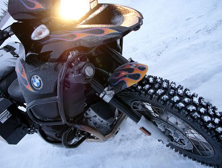 Ride Bike on Ice