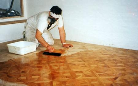 Surface Preparation Hardwood