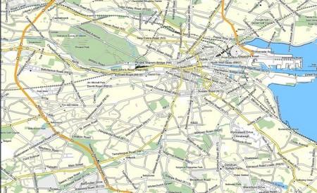 Contours maps