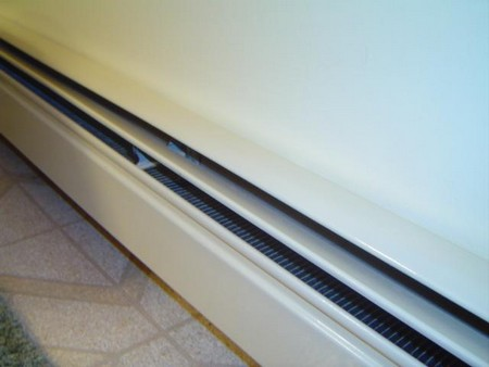 Hot Water Baseboard Heating System