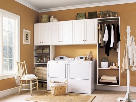 Laundry Room Storage System