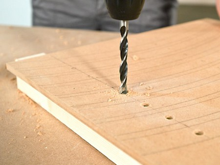 Make Holes Wood  Drilling