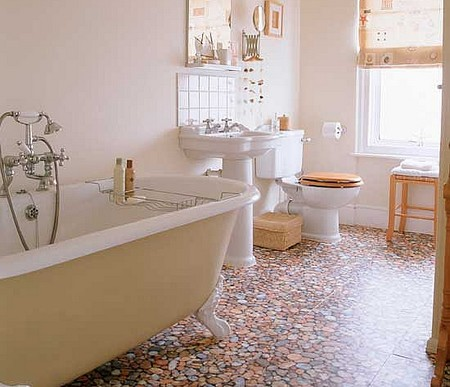 Resilient Flooring Bathroom