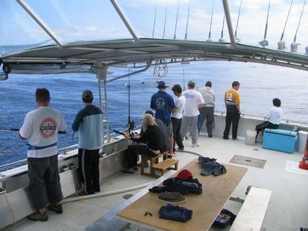 Seasickness During Fishing Trips