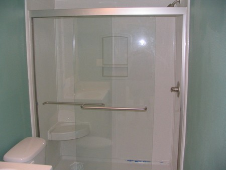 How to Install a Glass Shower Door | Overstock.com