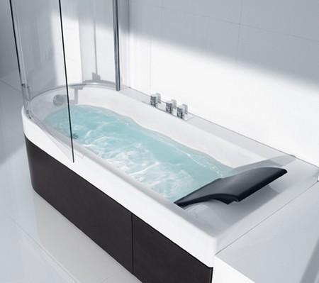 Sliding glass Tub  Shower