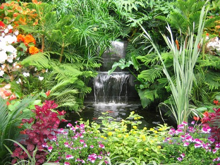 Themed water Features garden