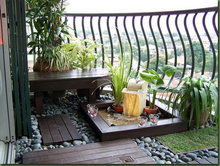 Garden Balcony  Outdoor Area