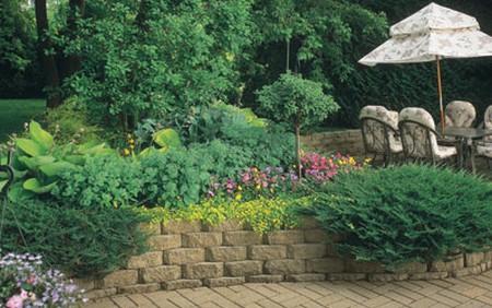 Garden Walls Materials