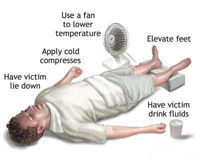 How to Treat Heat Exhaustion and Heatstroke  Heatstroke