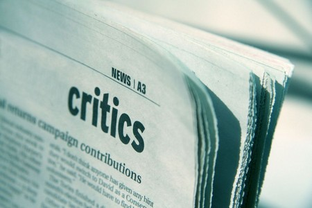 How to Take Criticism   The Actors Progress  critics