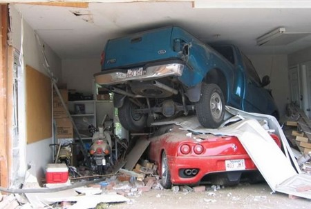 Garages Accidents