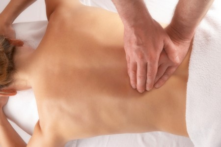 How to Use Pulling in Massage  back massage