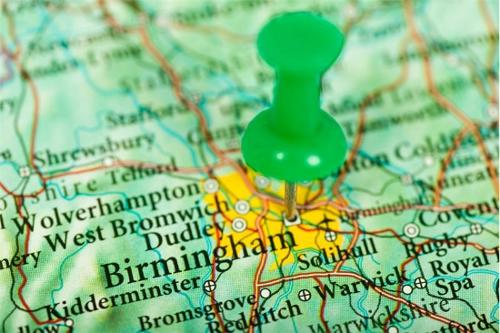 How to Enjoy Birmingham on a Budget  Birmingham Map