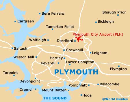 How to Enjoy Plymouth on a Budget  Plymouth Map