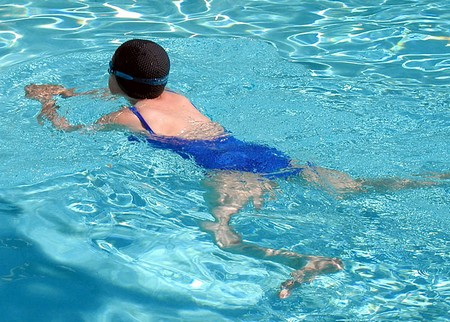how to teach your child to swim breaststroke