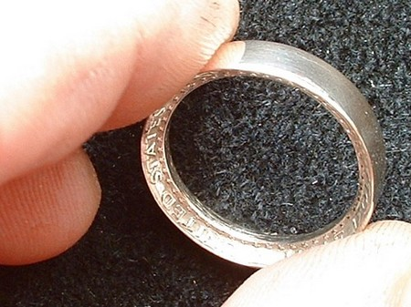 How to Make an Inside Out Coin Ring Coin Ring