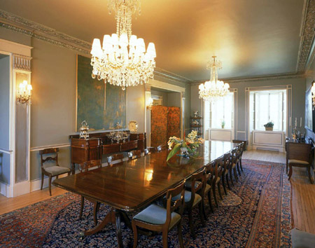 How to Position Lamps in the Dining Room Dining Room