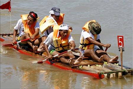 How to Make a River Cane Raft River Cane Raft