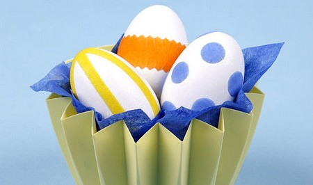 How to Design Eggs for Easter with Organic Components Design Eggs