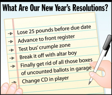 How to Make a Sensible Resolution on the New Years New Year Resolutions