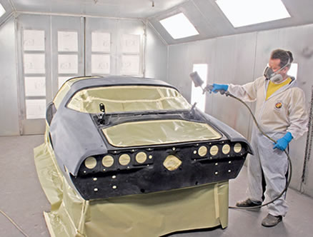 How to Spray Your Car with Base Coating Spray Your Car