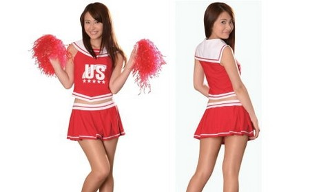 How to Dress as a Cheerleader Cheerleader Dress
