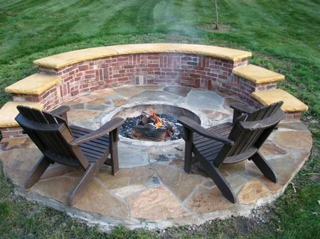 How to build a brick fire pit for Diy brick fire pit