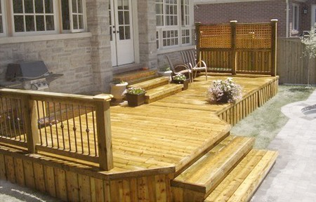 Free Deck Plans - How To Build A Deck, Deck Supports, Post Holes