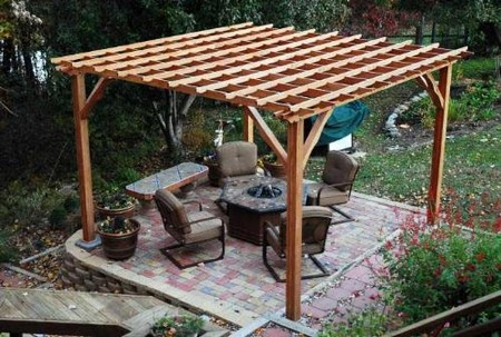Cut ... - How To Build A Pergola