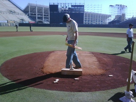 How to Build a Pitching Mound Build Pitching Mound