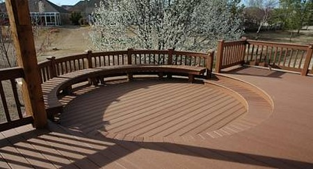 How to Build a Circular Deck Circular Deck