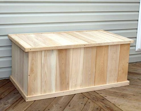 diy wood deck box. diy deck boxes images wood box l