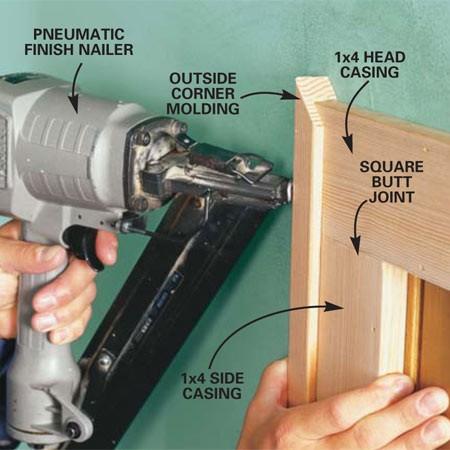 How to Install a Door Molding Door Molding