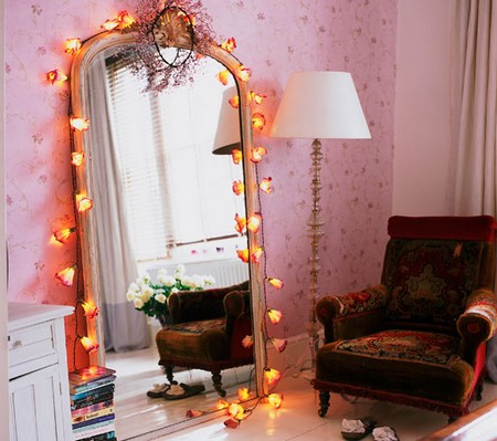 How to hang a full length mirror on a wall