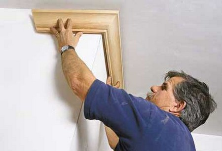 How to Install Crown Molding Install Crown Molding