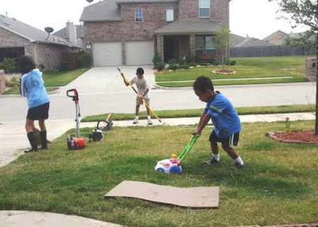 How to Involve your Kids in Yard Work Kids in Yard Work