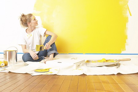 How to Change the Colour of your Home Painting Home