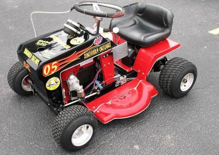 How to Build a Racing Lawnmower Racing Lawnmower