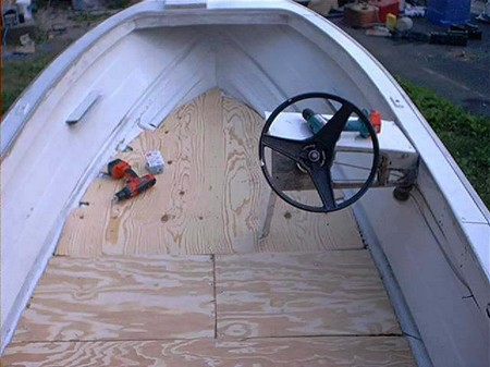 How to Repair a Boats Fiberglass Floor Boats Floor